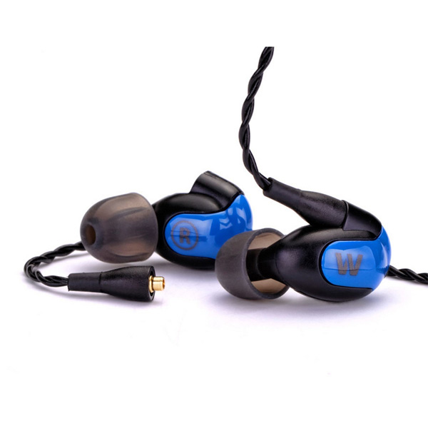 Westone W10 Single Driver Earphones with builtin mic and removable cable