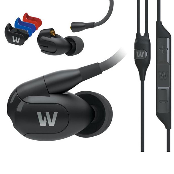 Westone W30 Triple Driver Earphones with built-in mic and removable cable