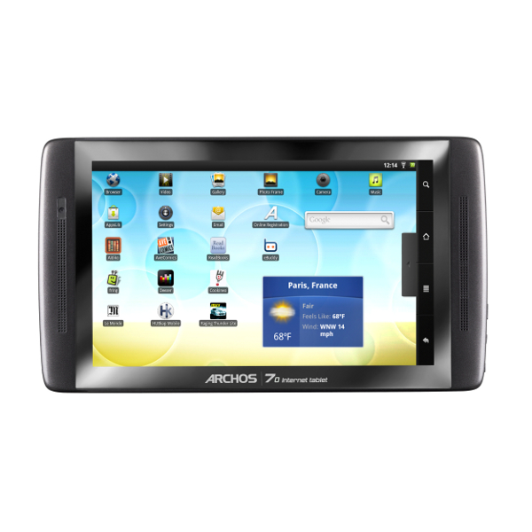 Archos 70 - 8GB (Flash) Android 2.2 Froyo Internet Tablet with 7 Display