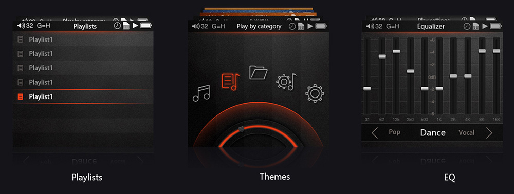Playlists, Themes and EQ on the FiiO X5ii