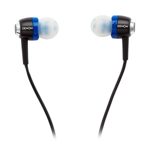Denon AH-C101 In-Ear Headphone with Microphone, Remote Controls for Apple iPhone, iPad and iPod