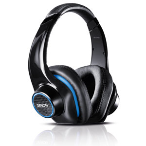 Denon AH-D400 'Urban Ravers' Over-Ear Headphone with Microphone Remote Controls for iPhone/iPad/iPod