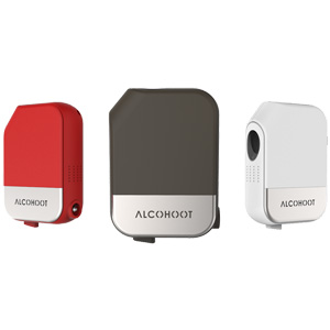 Alcohoot AHT101 Smartphone Breathalyser - The Power of Police Grade Technology in Your Hand