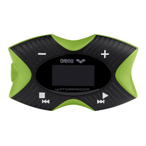 Arena Swimming MP3 Pro 4GB Waterproof MP3 Player & Pedometer with FM Radio