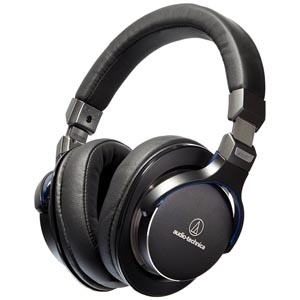 Audio-Technica MSR7BK High Resolution Headphones