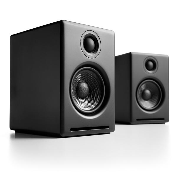 Image of Audioengine 2+ (A2+) Premium Powered Desktop Speakers Colour WHITE