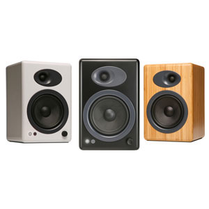Audioengine A5plus Active Speaker System (Pair) Colour BAMBOO