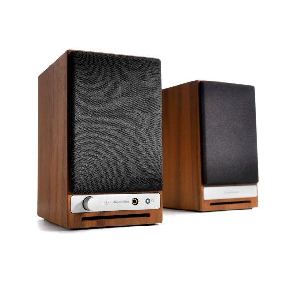 Image of Audioengine HD3 Powered Desktop Speakers Walnut (pair) Colour WALNUT