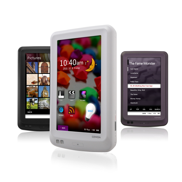 Cowon X7 160GB Portable Media Player