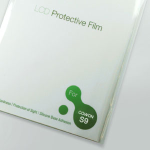 Cowon iAudio S9 LCD Protection Film gadgets