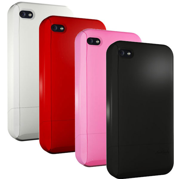 Hard Candy Cases Soft Touch Candy Slider Case for iPhone 4/4s