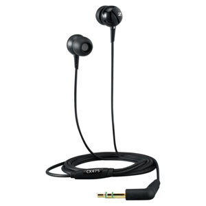 Sennheiser CX 475 Premium Sound Isolating Earphones