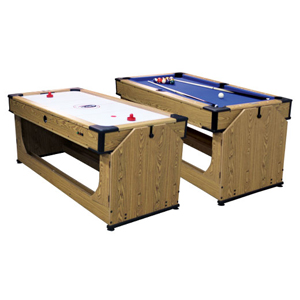 Debut 360 Orbiter 2 in 1 Pool Table and Air Hockey