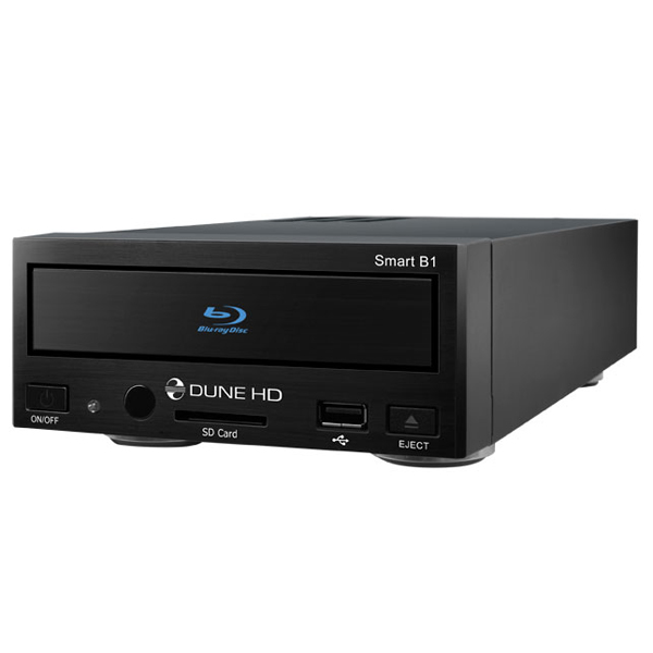 Dune HD Smart B1 Flagship High Definition Network Media Player with Blu-Ray Player (Manufacturer Reconditioned. 1 Month Warranty)