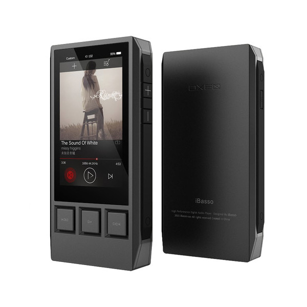 iBasso DX80 High Resolution Digital Audio Player with Dual CS4398 DAC and Native DSD