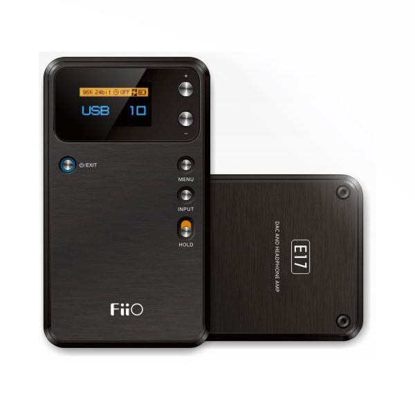 FiiO E17 Portable Headphone Amplifier with USB