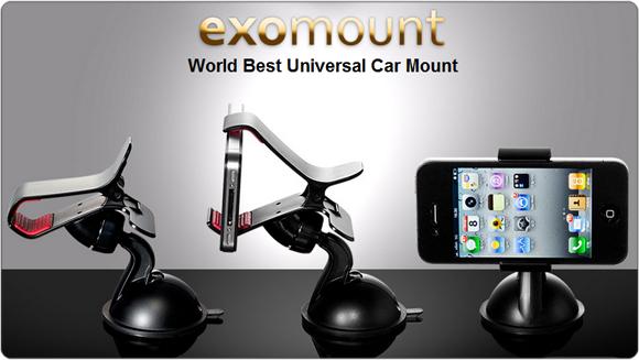 Exogear Exomount Universal Car Mount