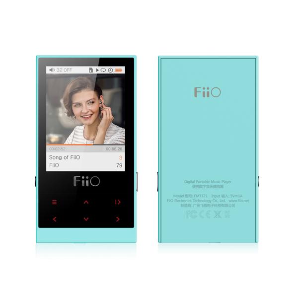 Image of Fiio M3 8GB Portable High Resolution Music Player - Cyan