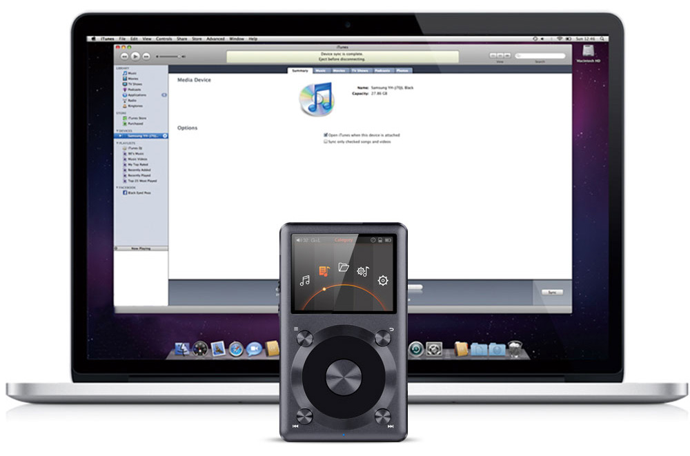 DAC in use with Mac