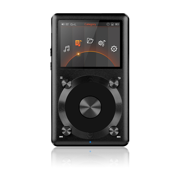 Image of FiiO X3 All New 2nd Gen High Resolution Digital Audio Player Special Edition Colour GOLD