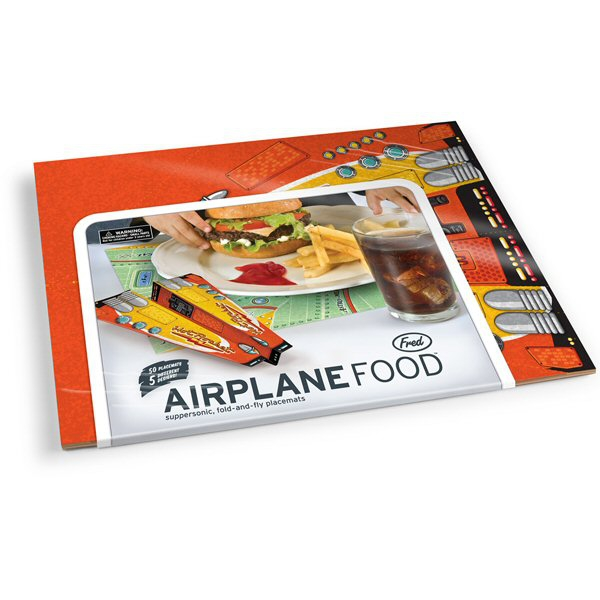 Fred Airplane Food Placemats