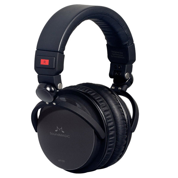 SoundMAGIC HP150 Closed Back Circumaural Audiophile Headphones with Replaceable Cable