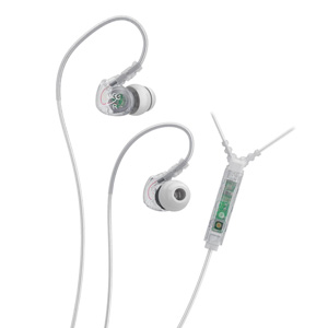 MEElectronics Sport-Fi M6P2 Memory Wire In-Ear Sports Earphones with Microphone