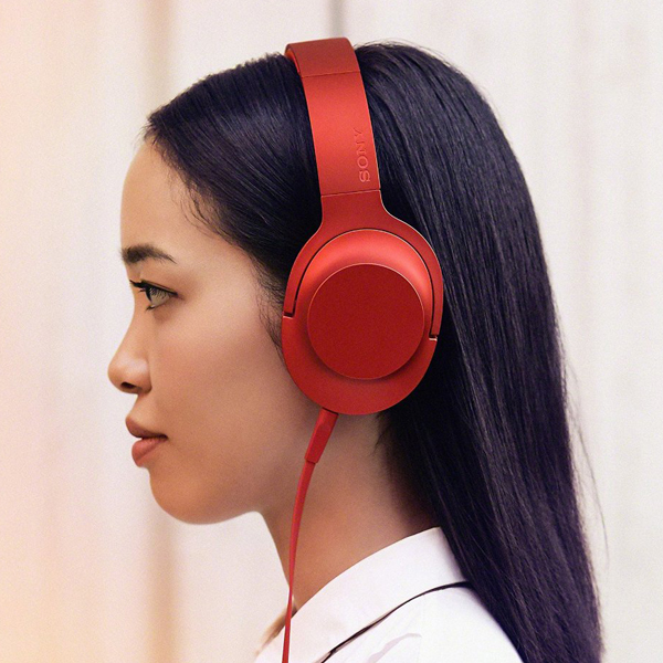 Sony MDR-100AAP Hi-Res Audio Colour Headphones