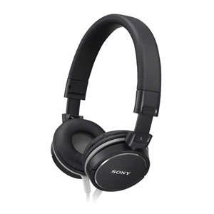Sony MDR-ZX610 Noise Isolating Headphones with Smartphone Control & Mic - BLACK
