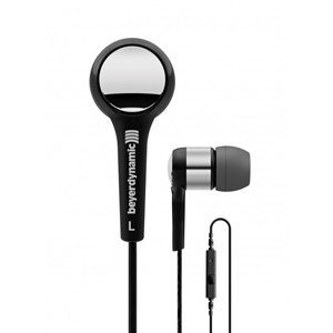 Beyerdynamic MMX102 iE Performance In-Ear Earphones with Mic for iPhone and Other Smartphones - Black