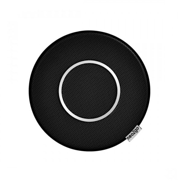 Neo2Go Splashproof Water Resistant Wireless Speaker for People On The Go Colour Pure Black