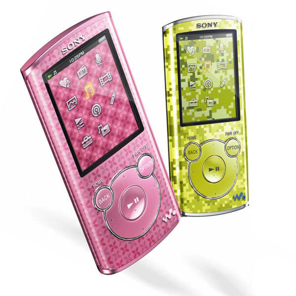 Sony NWZ-E463 4GB E Series Walkman MP3 Player Colour PINK