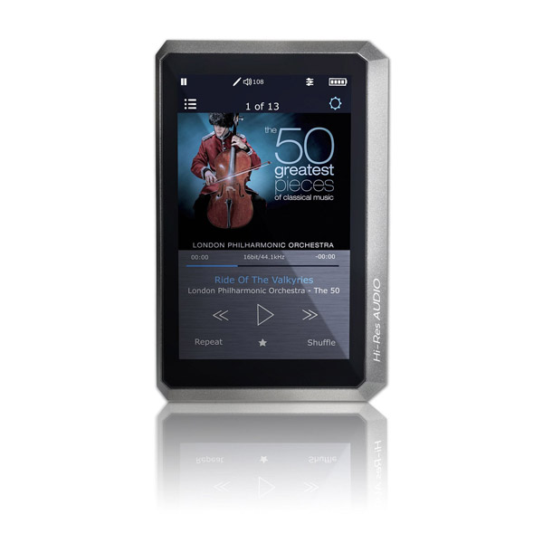 OPUS 1 High Resolution Portable Digital Audio Player