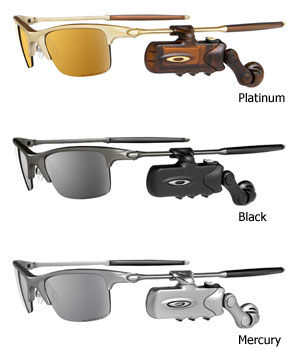 Oakley RAZRWIRE Bluetooth Eyewear (B Grade) Colour PLATINUM