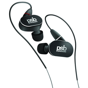 PSB M4U 4 In-Ear Headphones with scientifically developed RoomFeel technology