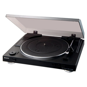 Sony PS-LX300 USB Turntable - USB output for quick, easy vinyl-to-MP3 conversion