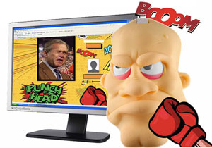 Punch Head - the new ultimate stress toy.