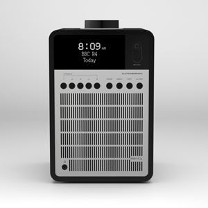 Revo SuperSignal Aluminium and Wood Deluxe Table Radio with DAB / DAB+ & FM