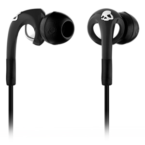 Skullcandy FIX IN EAR Earphones with Mic3 - Black/Chrome