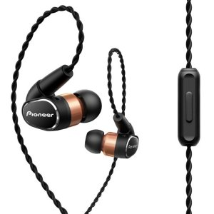 Pioneer SE-CH9T Earphones with Detachable cable, Brass and Aluminium Construction