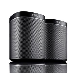 2 Room Starter Kit - SONOS PLAY:1 Mini But Mighty Wireless HiFi System Speaker Bundle