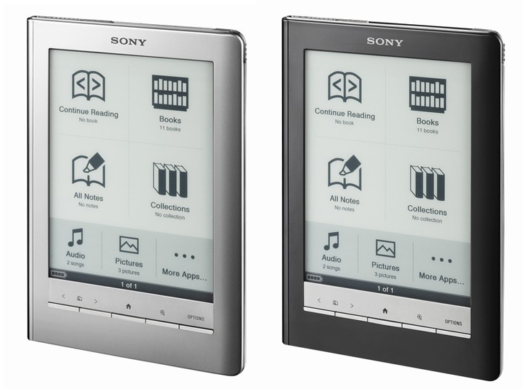 ... sony ebook reader part of a raft if ebook readers released just in
