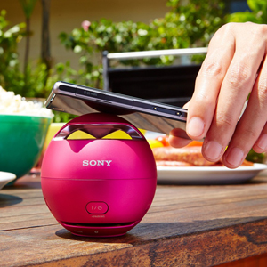Sony SRS-X1 Ultra Portable Bluetooth Speaker - PINK