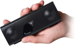 foxLv2 Portable Bluetooth Speaker with Integrated Mic