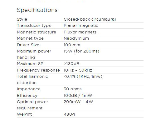 EL-8 Specifications
