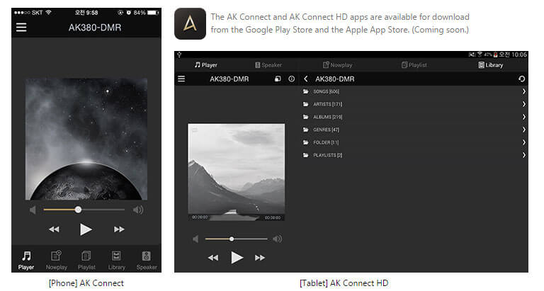 AK380 AK Connect App