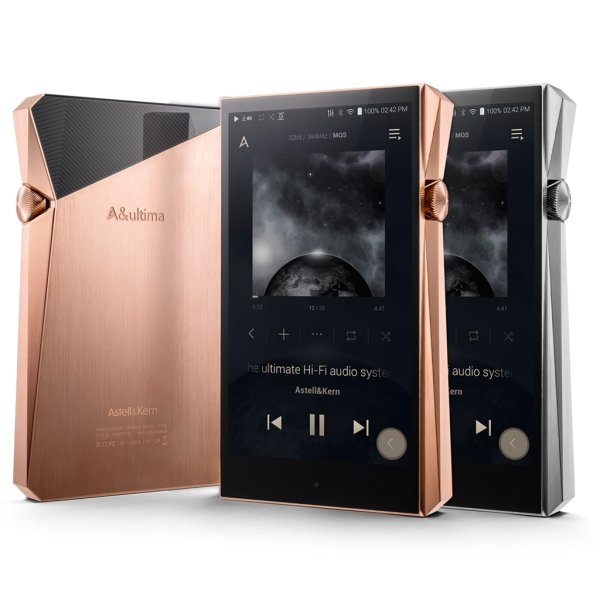 Astell and Kern SP2000 High Res Digital Audio Player Colour SILVER
