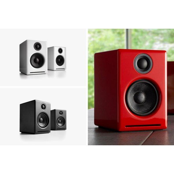 Audioengine 2+ (A2+) Premium WIRELESS Desktop Speakers Colour WHITE