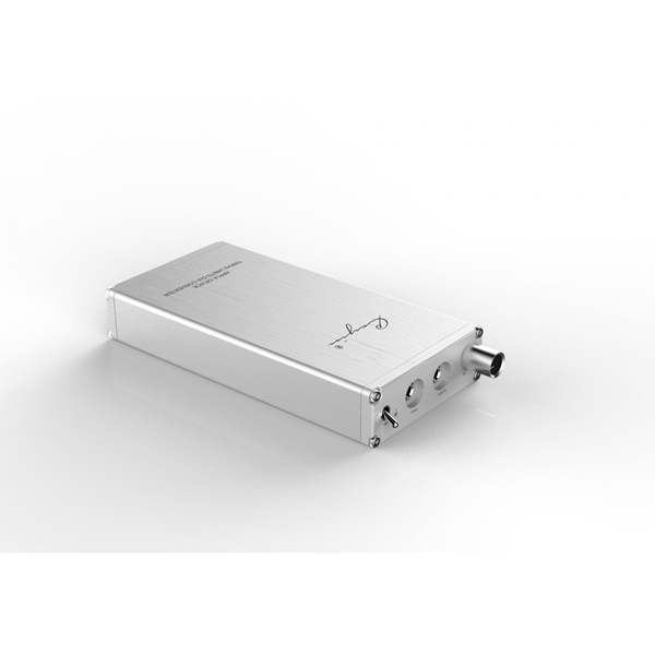 CAYIN C6 Portable HiFi Headphone Amplifier WM8741 DAC Colour SILVER (Used condition, no packaging, cosmetically marked)