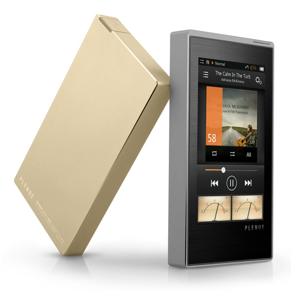 Image of Cowon Plenue 1 (P1) High Resolution Worlds Finest DAC 128GB Music Player Special Edition + 64GB Sandisk MicroSD Card Colour GOLD